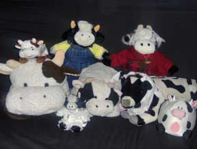stuffed cows